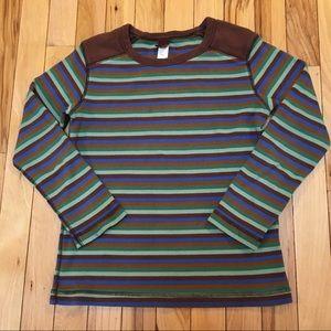 Tea Collection Boy's Striped Long Sleeve Shirt Sz8